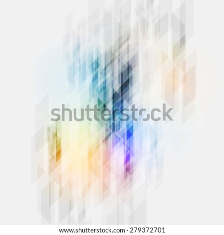 Colorful tech abstract geometric texture. Vector background - stock vector