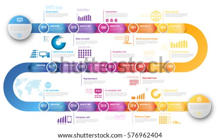 Colorful template business concept timeline arrows stock vector colorful template business concept timeline arrows stock vector 2018 576962404 shutterstock cheaphphosting Gallery