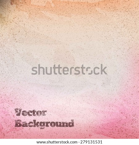colorful textured abstract background, vector illustration - stock vector