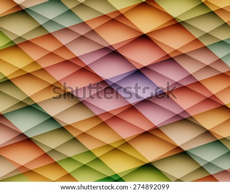 Colorful vector abstract background with mosaic pattern. Vector illustration - stock vector