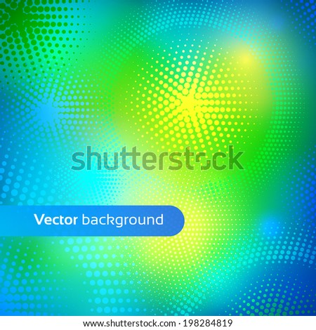 Colorful vector background. - stock vector
