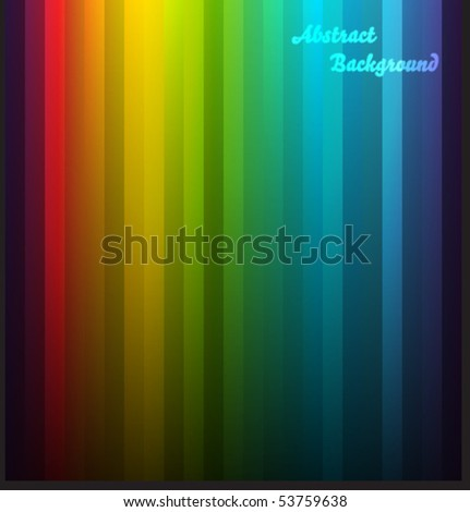 Colorful vector background with lines - stock vector