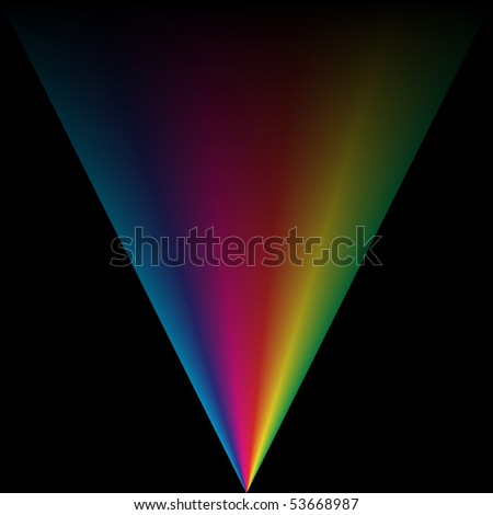 Colorful vector background with spectrum