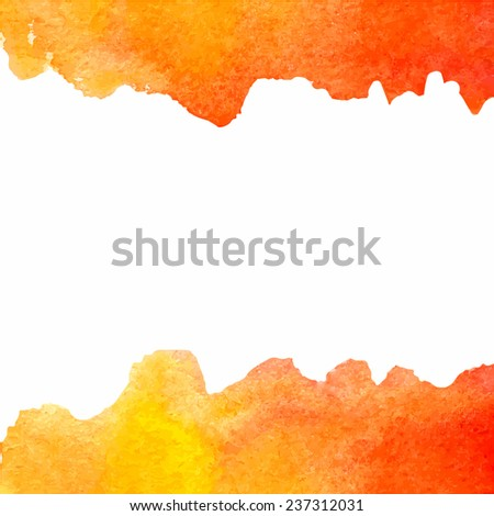 Colorful vector design element - isolated on white background watercolor paint /Colorful vector design element - isolated on white watercolor paint /Tetyana Rogozina