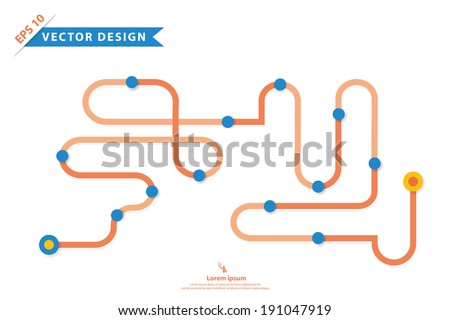 Colorful vector design for workflow layout, diagram, number options, web design, presentation template, infographics and more in your business.. - stock vector