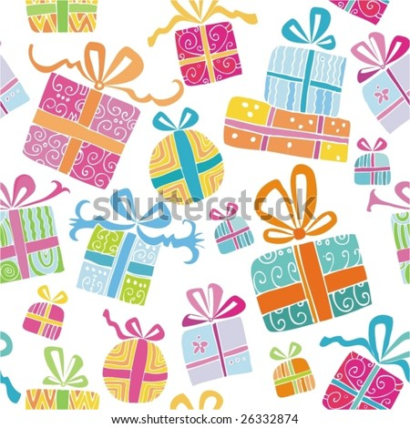 Colorful vector gift boxes. To see similar, please VISIT MY GALLERY. - stock vector