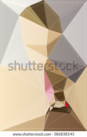 colorful vector shape background color abstract art