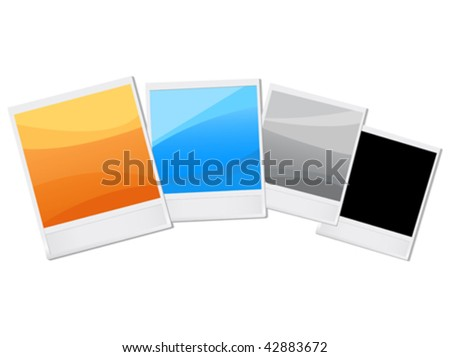 colorful vector shots. easy to edit - stock vector