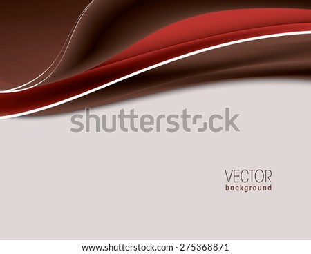 Colorful Vector Wavy Background.