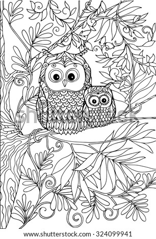 small coloring pages for adults - photo#49