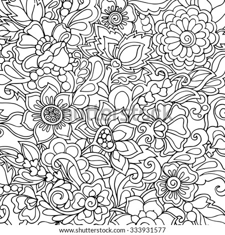free coloring pages for older adults   Coloring Book Adult Older Children Coloring Stock Vector ...