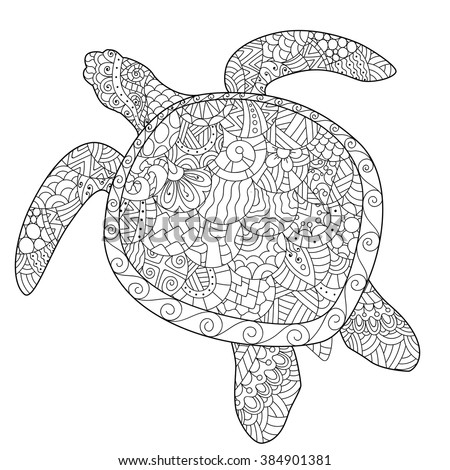adult turtle coloring pages - stock images royalty free images vectors shutterstock