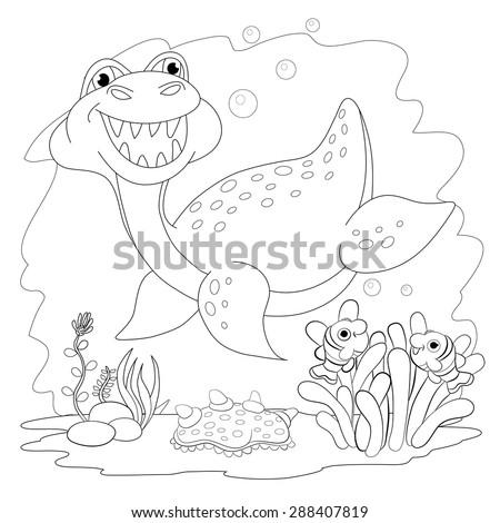 sea monster stock photos royalty free images vectors shutterstock. Black Bedroom Furniture Sets. Home Design Ideas