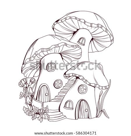 Fairymushroom Stock Vectors Images