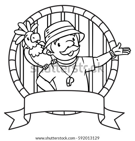 zookeeper coloring pages - photo#28