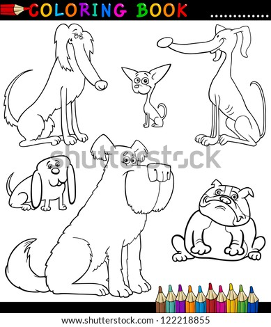 Coloring Book Coloring Page Black White Stock Vector 132923444