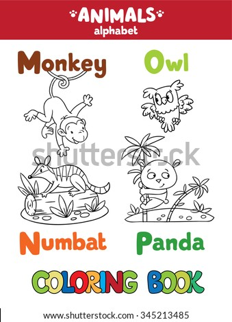 Coloring Book Coloring Picture Funny Yak Stock Vector 499640383