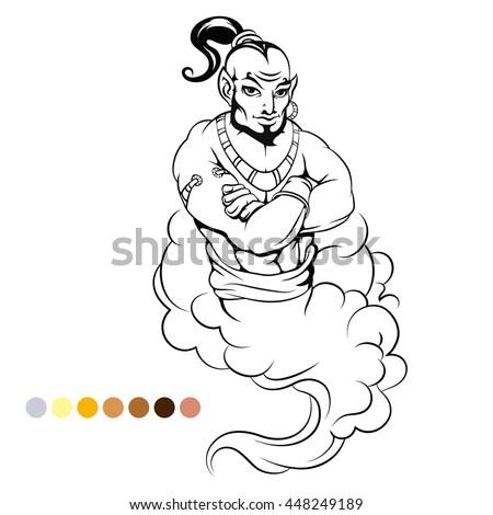 Genie In A Bottle Drawings