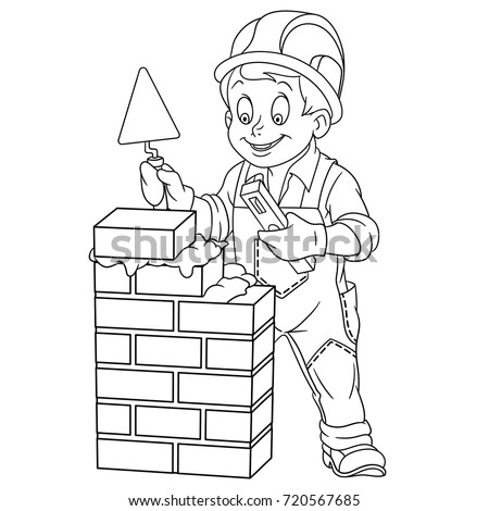 wall size coloring pages - trowel coloring pages sketch coloring page