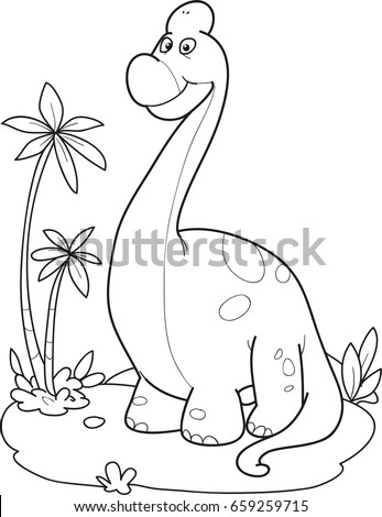 Diplodocus stock images royalty free images vectors for Diplodocus coloring page