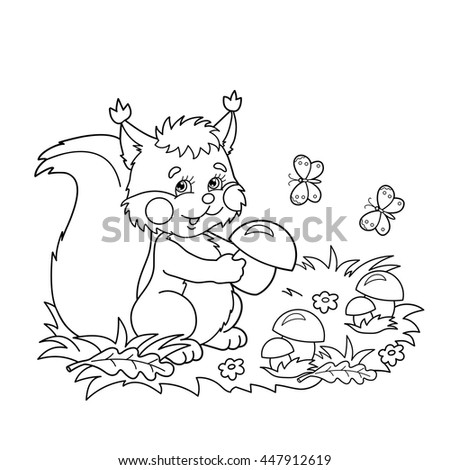 Painted Squirrel Stock Images Royalty Free Images Vectors