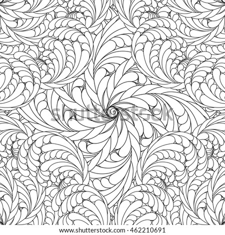 Coloring Pages For Adults And Older Children Vector Floral Mandala Patterns Abstract
