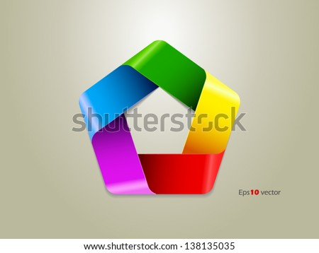 Colors vector illustration - stock vector