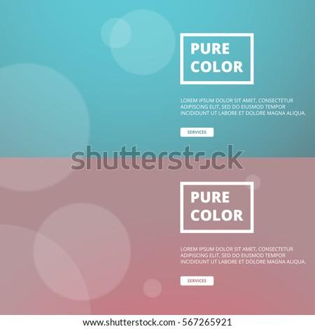 Colourful Website Banner Templates Stock Vector 567265921 - Shutterstock