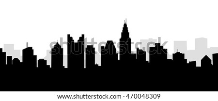 Columbus City Skyline - Vector
