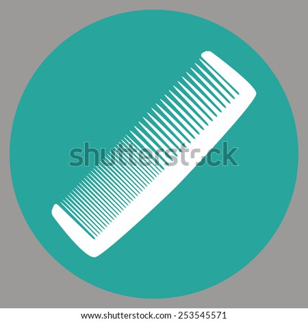 Comb Icon - stock vector