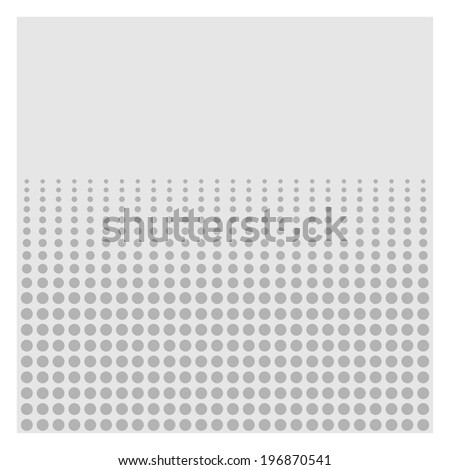 Comics Halftone Background graphic effects. Vector illustration - stock vector