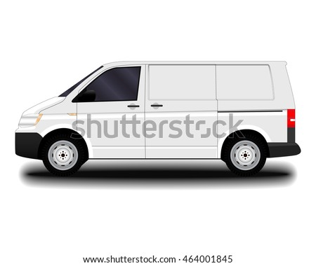 Commercial Vehicle. Van