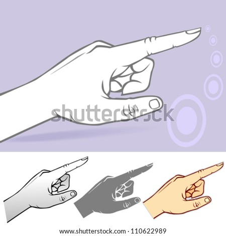 Commonly used Hand Gesture