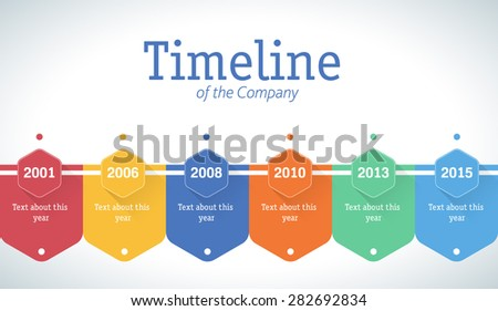 Company Timeline Template. corporate timeline by ouss videohive ...