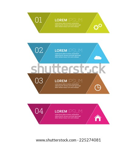 Comparative chart with templates for presentation, informative forms. Option. Infographic for  annual report, statistics, info chart, advertising, web banner, explanation. Process step by step. analyze - stock vector