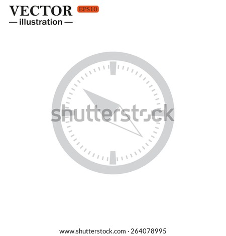 Compass , vector illustration, EPS 10 - stock vector