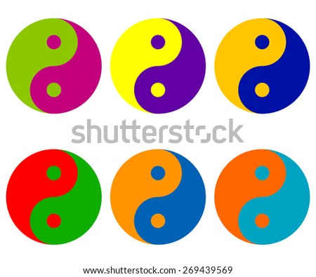Complementary Colors Logos Complementary Color in Yin