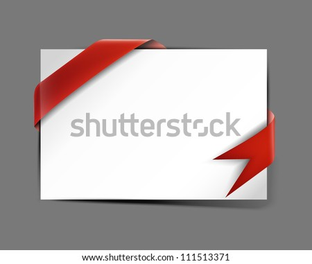 Composite empty frame with places for design, eps10 vector background