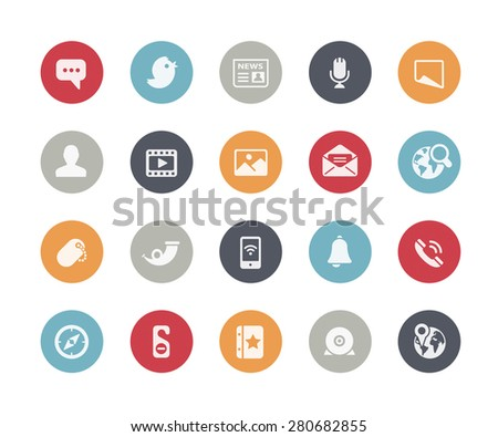 Computer Icons // Classics Series - stock vector