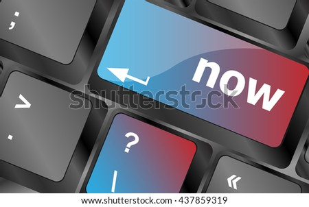 computer keyboard keys with buy word on it . vector illustration - stock vector