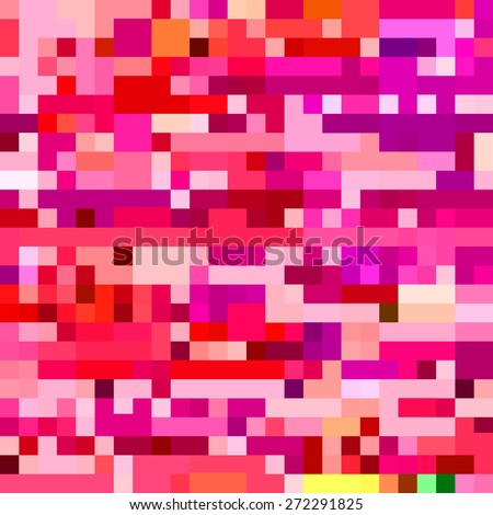 computer monitor glitch pixelated pattern   - stock vector