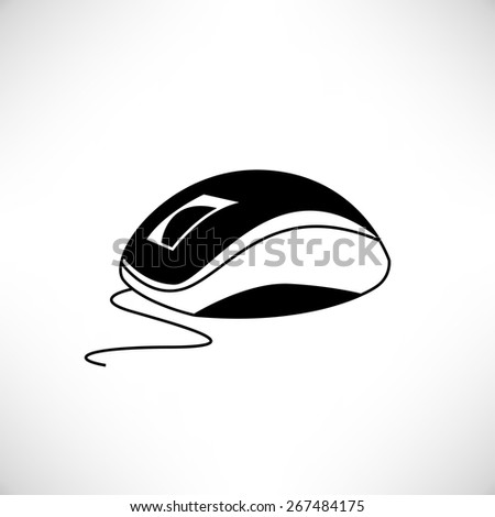computer mouse - stock vector