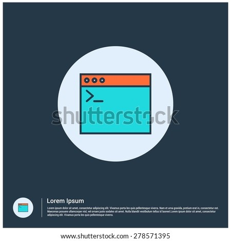 Computer Code Icon Computer Programming Code Icon