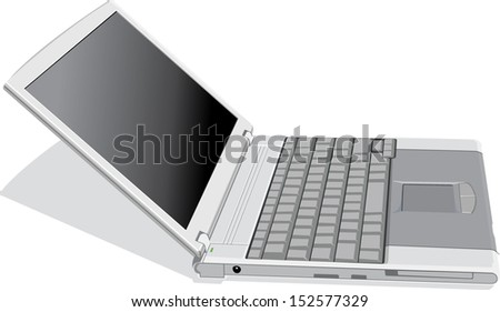 computer vector - stock vector