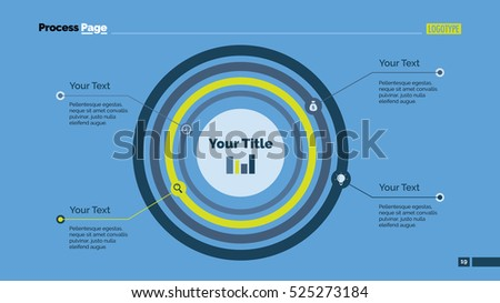 Concentric circles diagram slide template stock vector hd royalty concentric circles diagram slide template ccuart Gallery