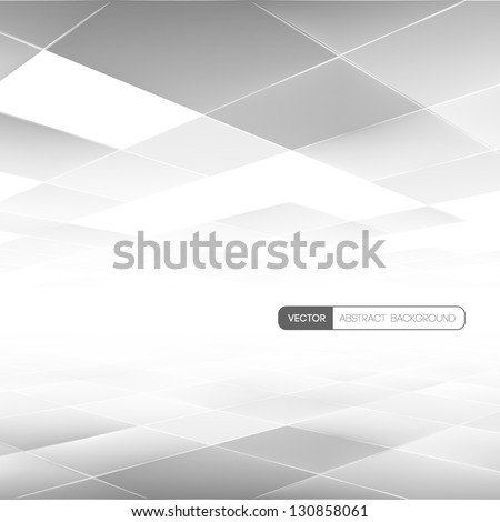 Concept business background. Lowpoly Vector illustration of vision perspective. Used opacity mask and transparency layers of background and mesh objects - stock vector