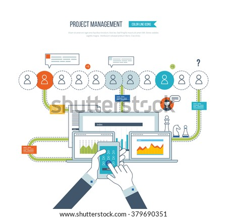 Project Management Banque DImage Libre De Droit Photos Vecteurs