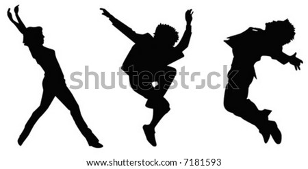 Concept for the new generation based on music, dance, party and thrill - stock vector