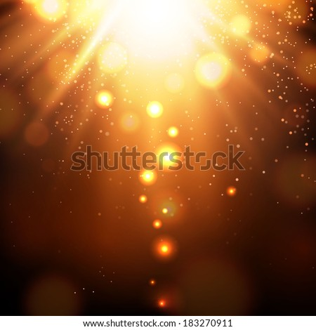 Concept light background - stock vector