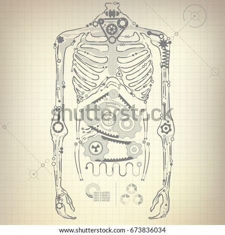 Concept blueprint ai invention robot body stock vector 673836034 concept blueprint ai invention robot body stock vector 673836034 shutterstock malvernweather Images